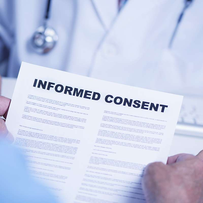 What is informed consent (and why is it important to understand for my spine?)