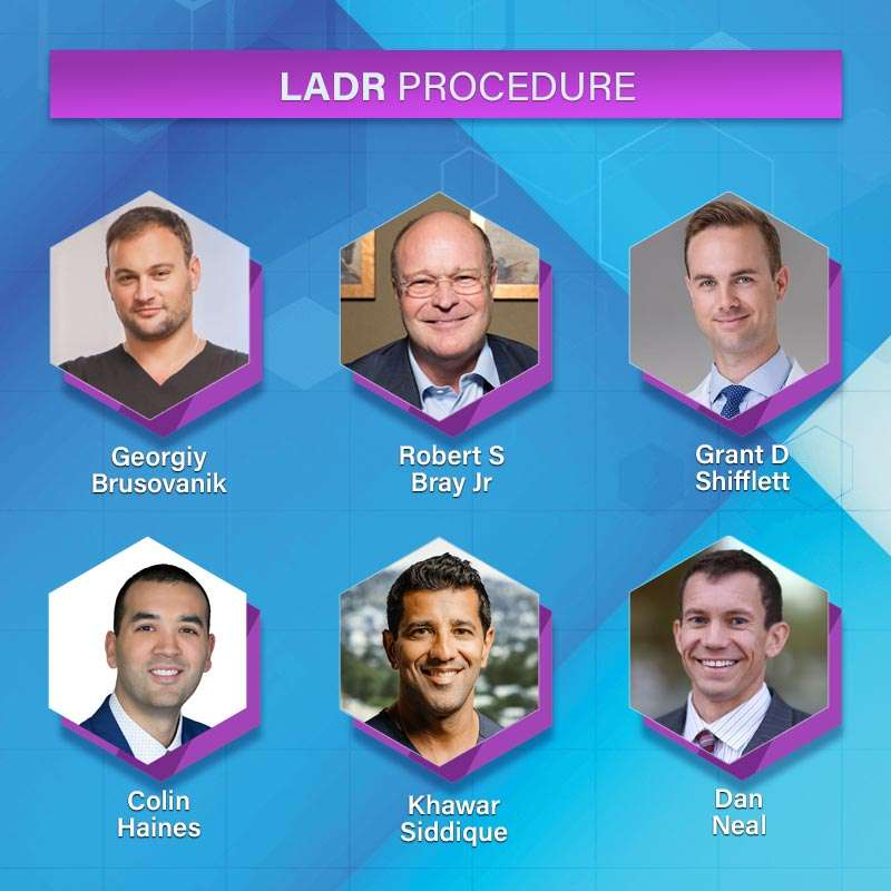 LADR spine surgeons and physical therapists
